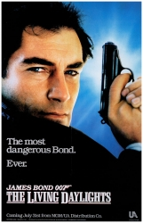 The Living Daylights US Advance poster
