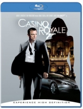 Casino Royale's Blu-ray cover