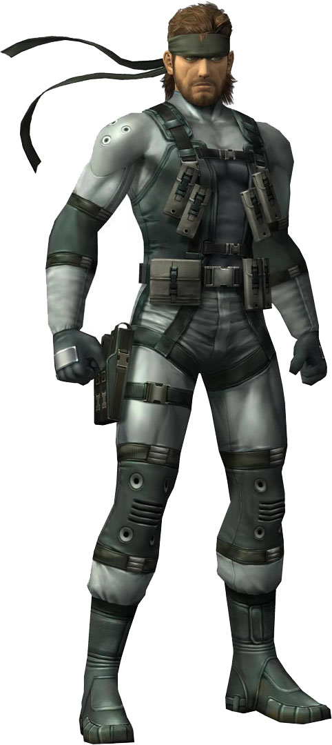 Best video game Villain ever - Page 6 SolidSnake