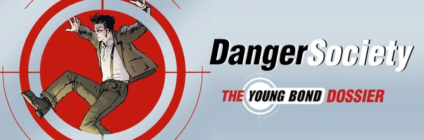 Danger Society: The Young Bond Dossier UK Paperback Launch Graphic