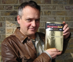 Charlie Higson with Hurricane Gold
